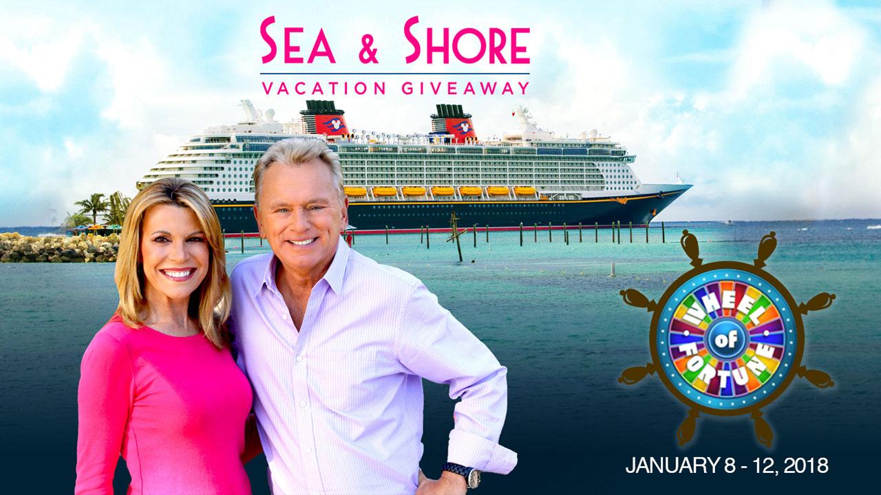 Wheel Of Fortune S Disney Sea Amp Shore Week Returns January