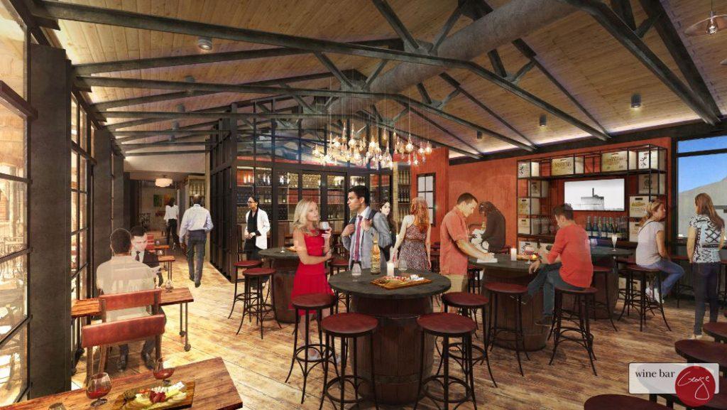 Wine Bar George Interior Concept Art