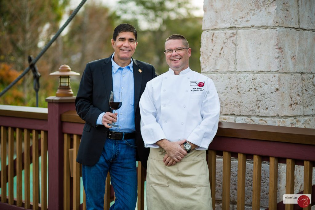 Wine Bar George Ron Rupert Miliotes