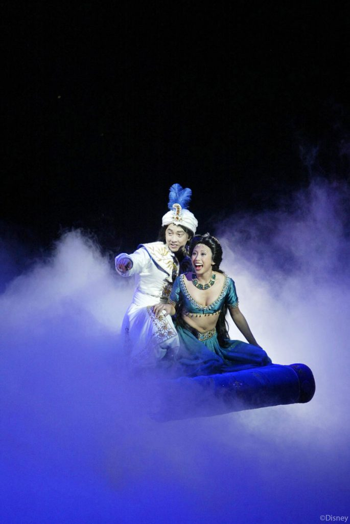 DCL Aladdin Musical Spectacular Aladdin Jasmine