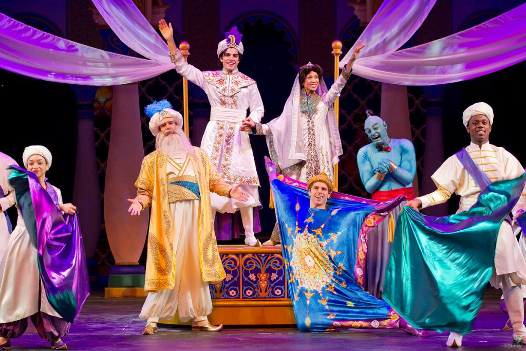 DCL Aladdin Musical Spectacular Finale