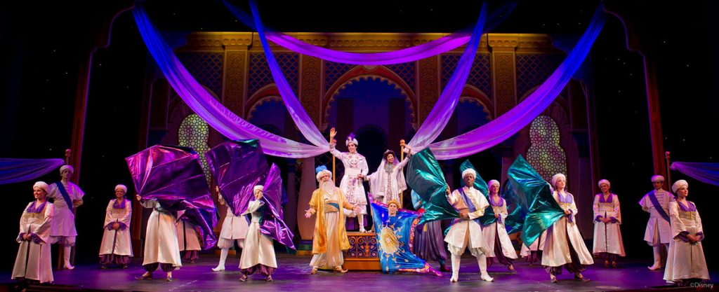 DCL Aladdin Musical Spectacular Finale Ensemble