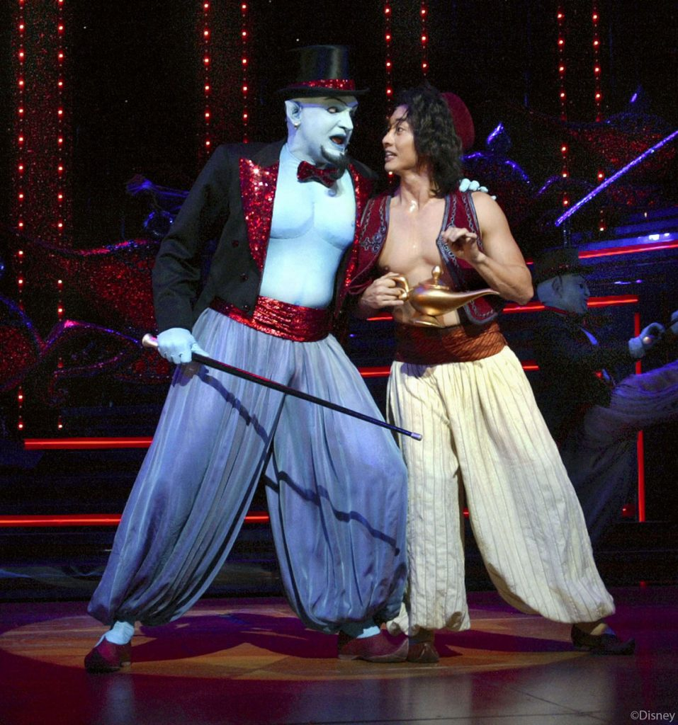 DCL Aladdin Musical Spectacular Genie Aladdin