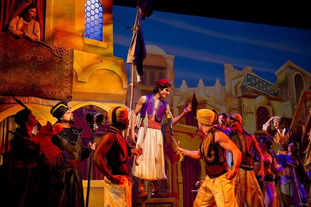 DCL Aladdin Musical Spectacular Street Rat