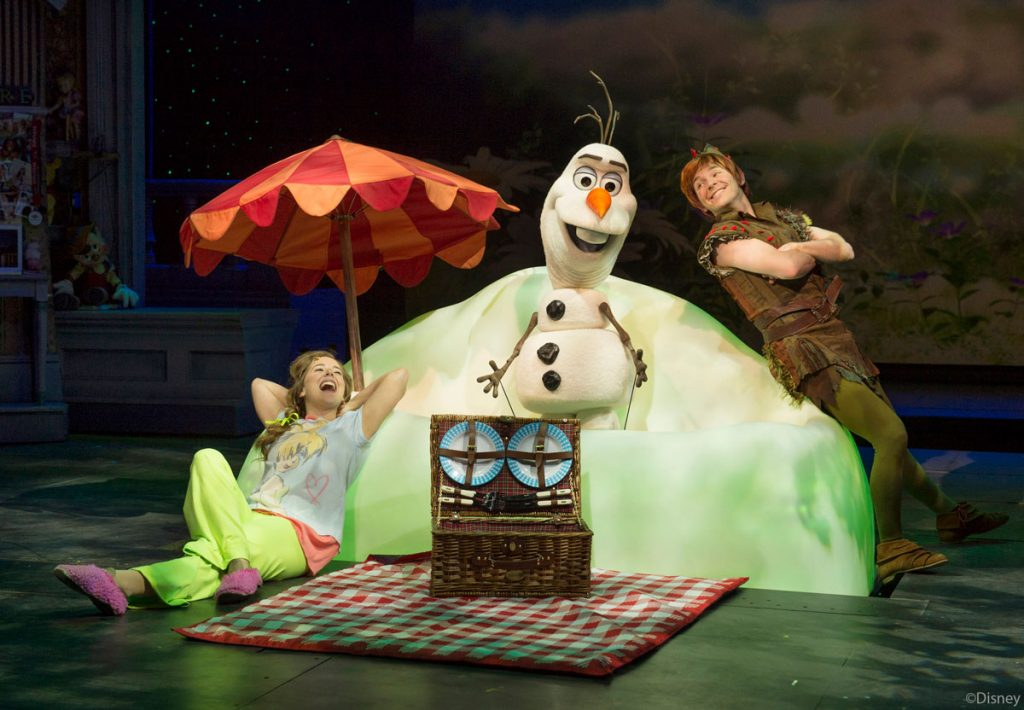 DCL Disney Dreams Enchanted Classic Ann Olaf Peter