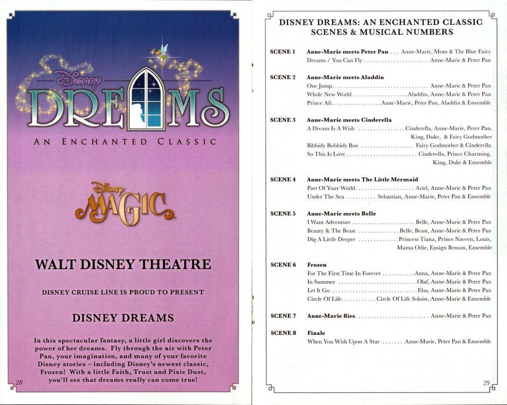 Disney Dreams Enchanted Classic Scenes 2016 Magic