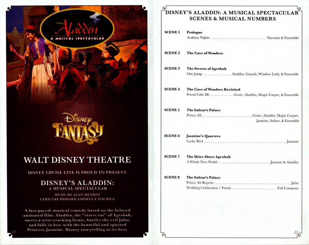 Disneys Aladdin Scenes 2016 Fantasy