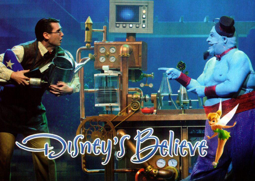 Disneys Believe Logo
