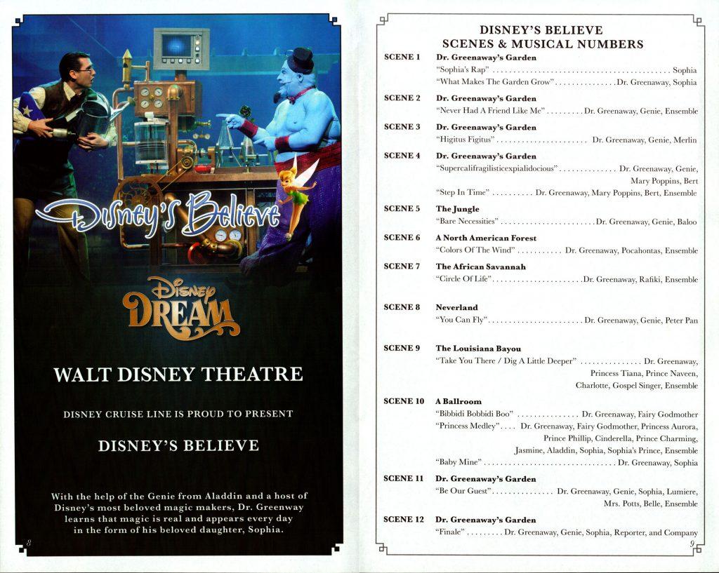 Disneys Believe Scenes 2016 Dream