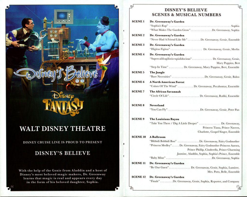 Disneys Believe Scenes 2016 Fantasy