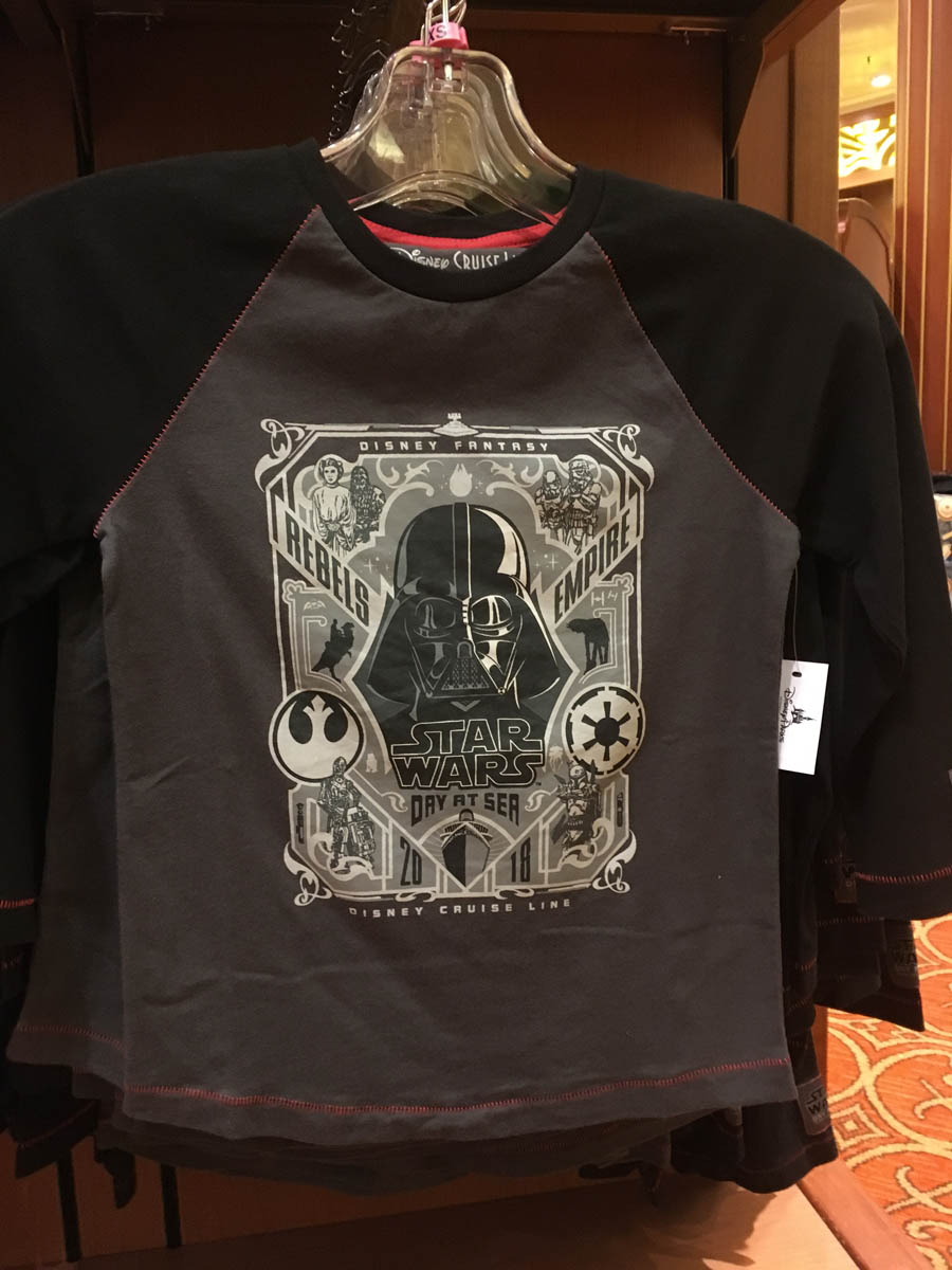 2018 Star Wars Day At Sea Merchandise The Disney Cruise