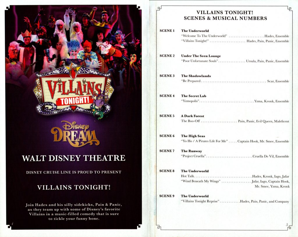 Villains Tonight Scenes 2016