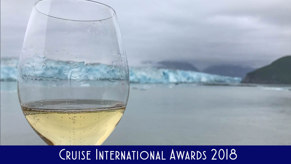 Cruise International Awards 2018 Hubbard Glacier