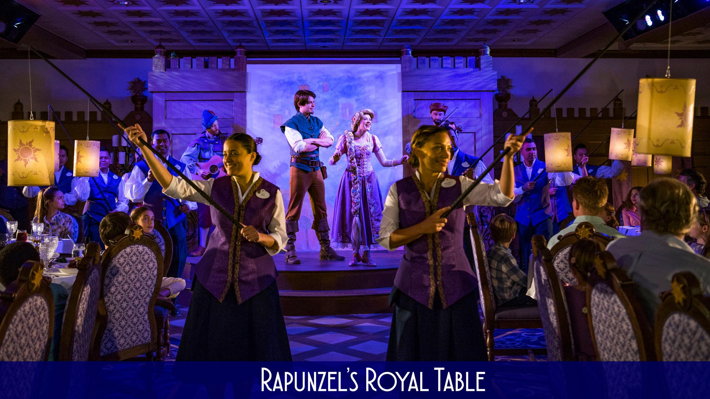 DCL RRT Rapunzels Royal Table