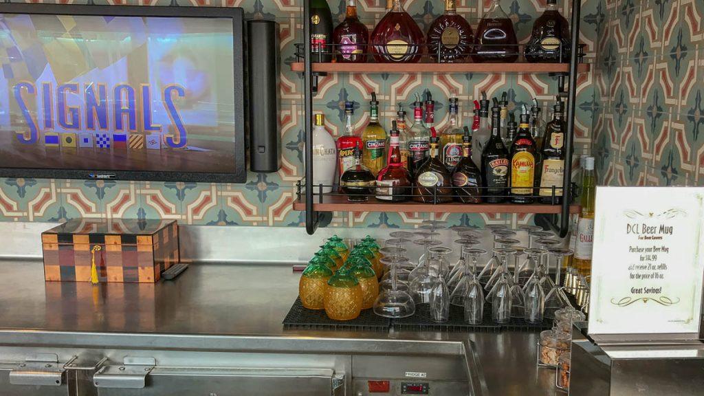 Disney Magic Signals Bar Liquor Beer Mug