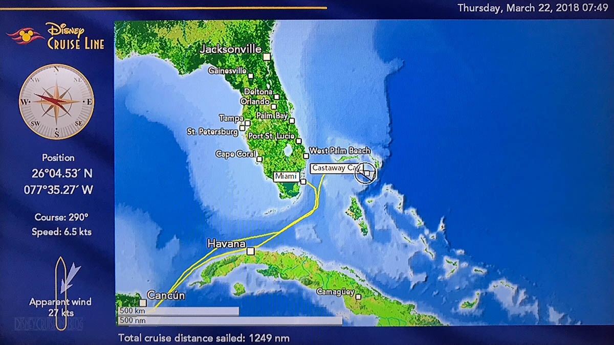Disney Magic Staterrom Map 20180322 Castaway Cay