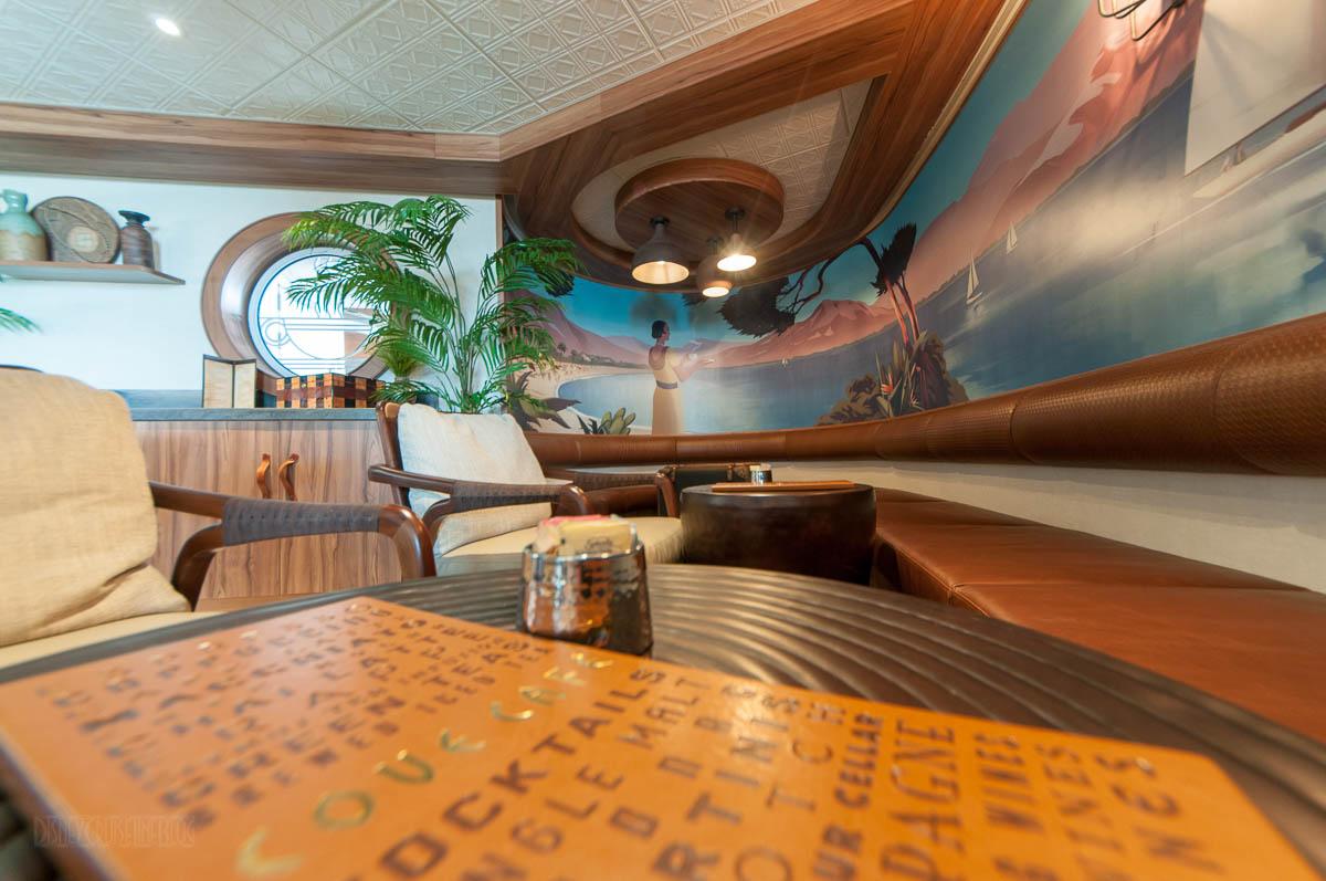 Magic Cove Cafe Seating Area