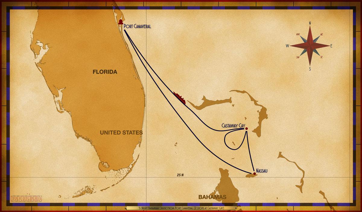 Map Dream 5 Night Bahamian PC NAS CC CC SEA