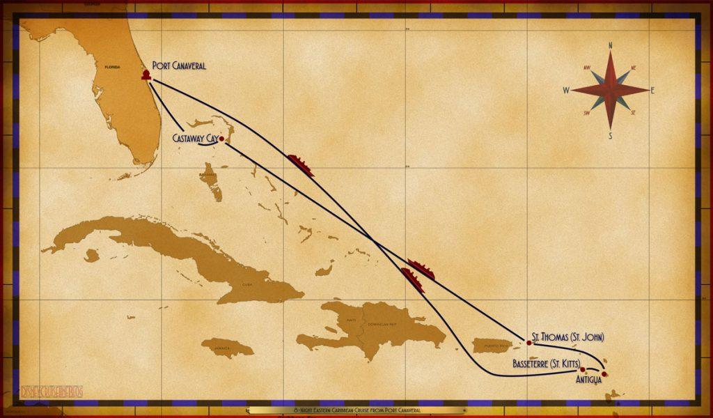 Map Fantasy 8 Night Eastern Caribbean PC SEA SEA BAS ANT STT SEA CC