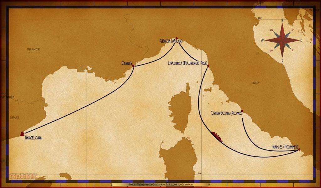 Map Magic 6 Night Mediterranean BAR To CIV