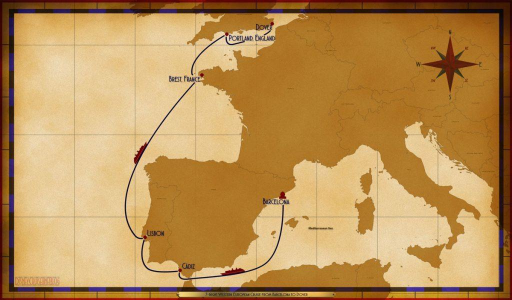 Map Magic 7 Night Western European Repo Barcelona Dover 2019