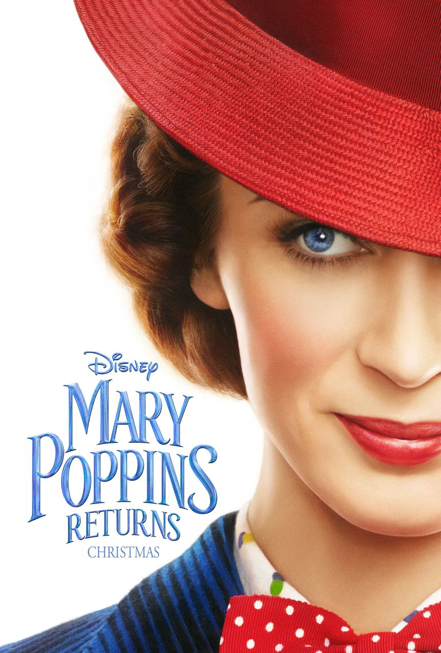 Mary Poppins Returns Teaser Movie Poster