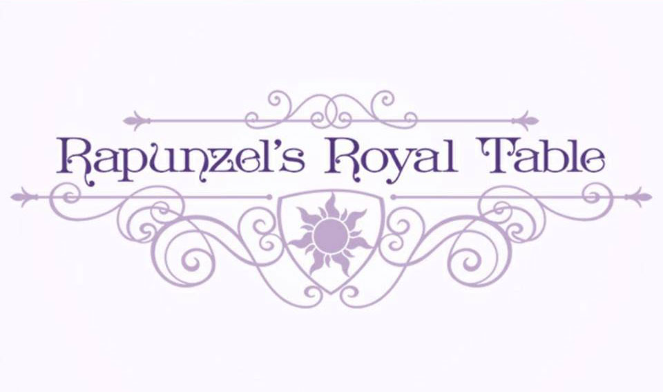 Rapunzels Royal Table Logo Magic