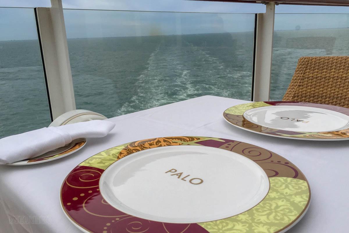 Disney Dream Palo Meridian Outdoor Seating Area Oceanview