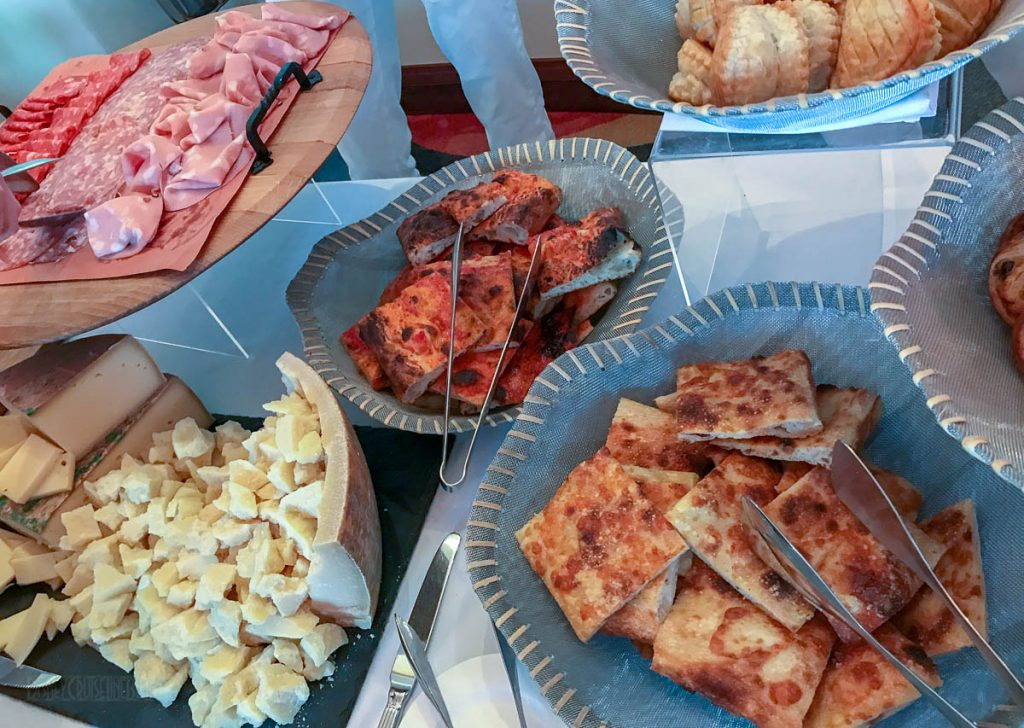 Disney Springs Maria Enzos Brunch Bread Charcuterie Cheese
