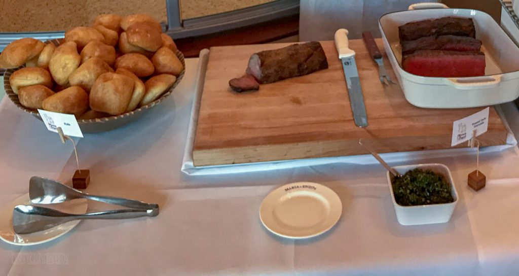 Disney Springs Maria Enzos Brunch Carving Station