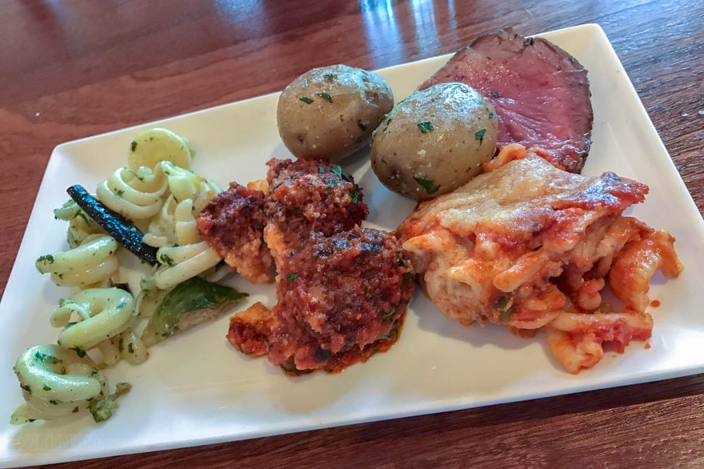 Disney Springs Maria Enzos Brunch Entree Plate