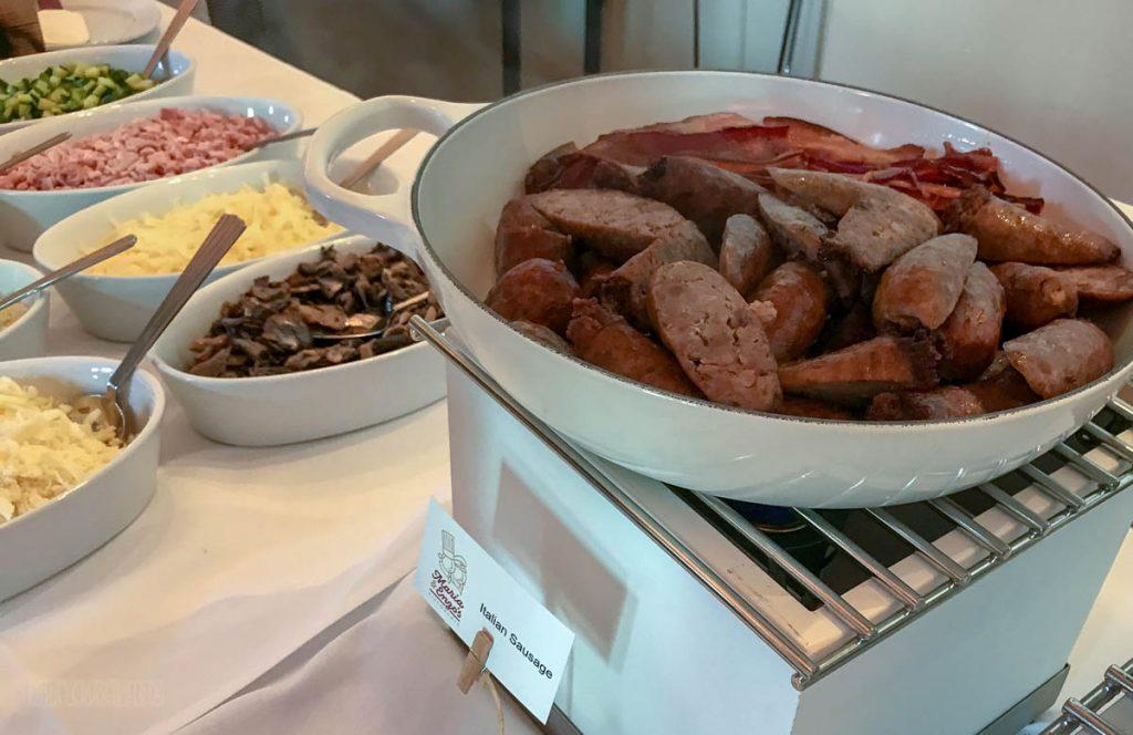 Disney Springs Maria Enzos Brunch Italian Sausage