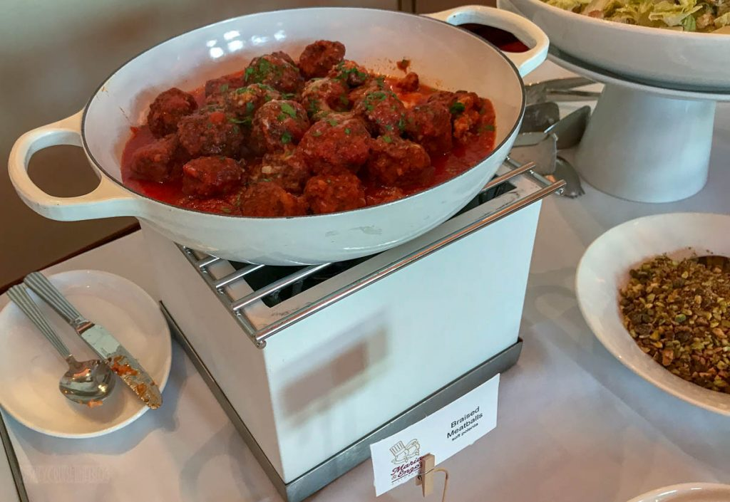 Disney Springs Maria Enzos Brunch Meatballs