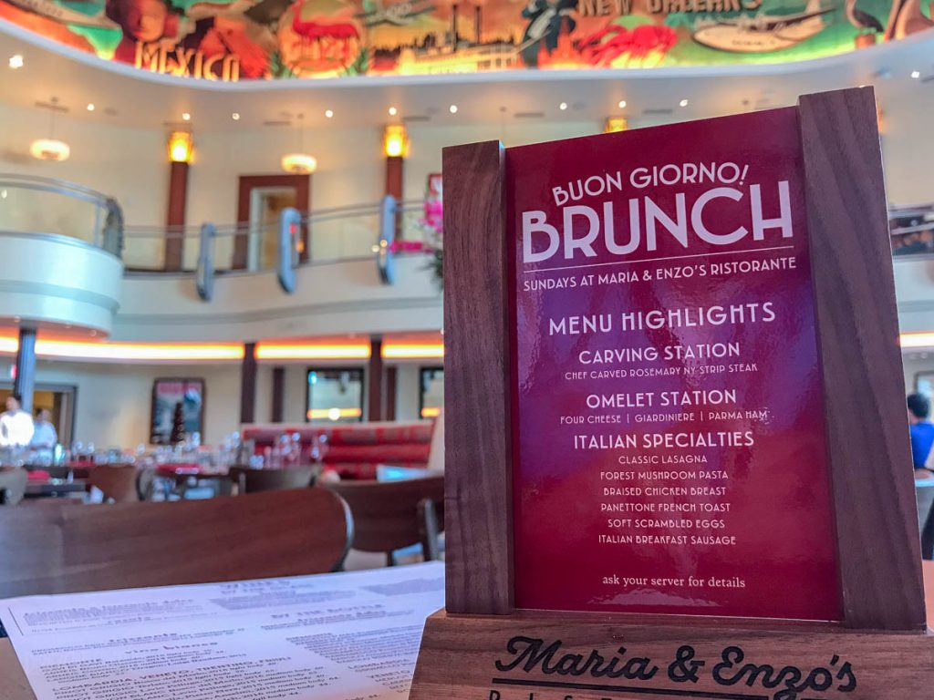 Disney Springs Maria Enzos Brunch Promo