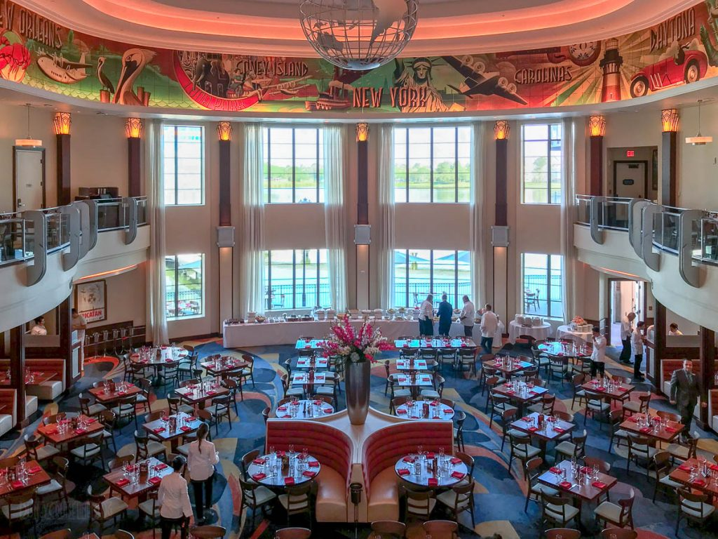 Disney Springs Maria Enzos Dining Room