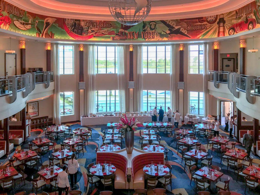 Disney Springs Maria Enzos Dining Room