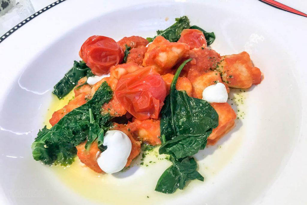 MDAS Dinner Ricotta Gnocchi
