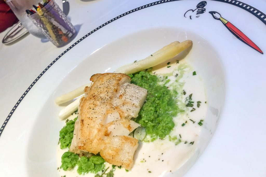 MDAS Dinner Roasted Scandinavian Cod Filet