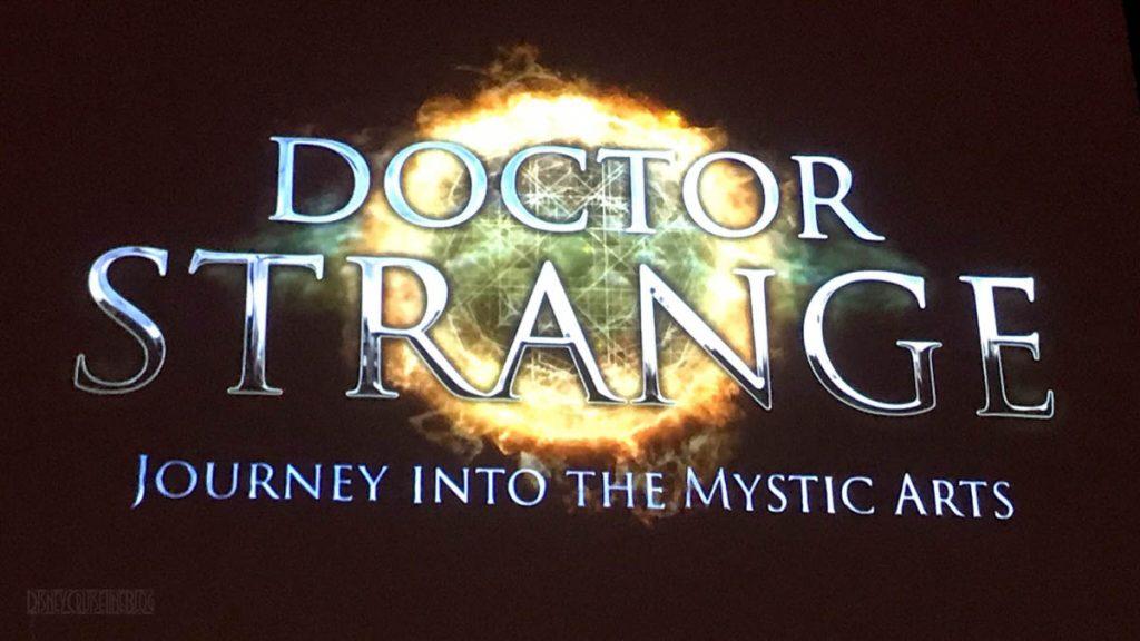 Doctor Strange Journey Into The Mystic Arts Logo