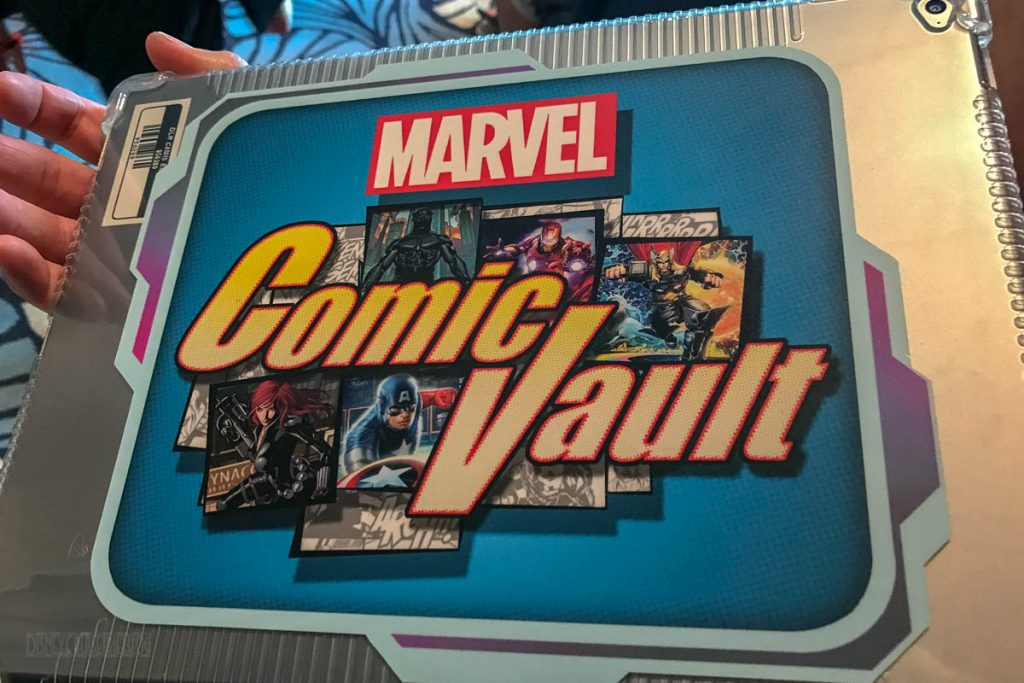 MDAS Marvel Comic Vault IPad Logo