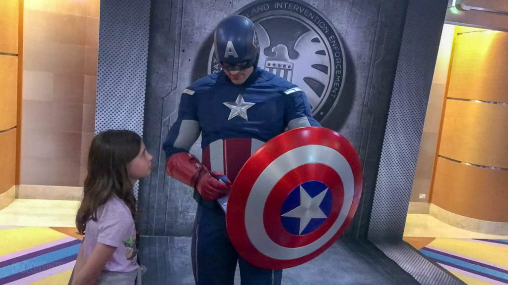MDAS Captain America Meet And Greet Isabelle