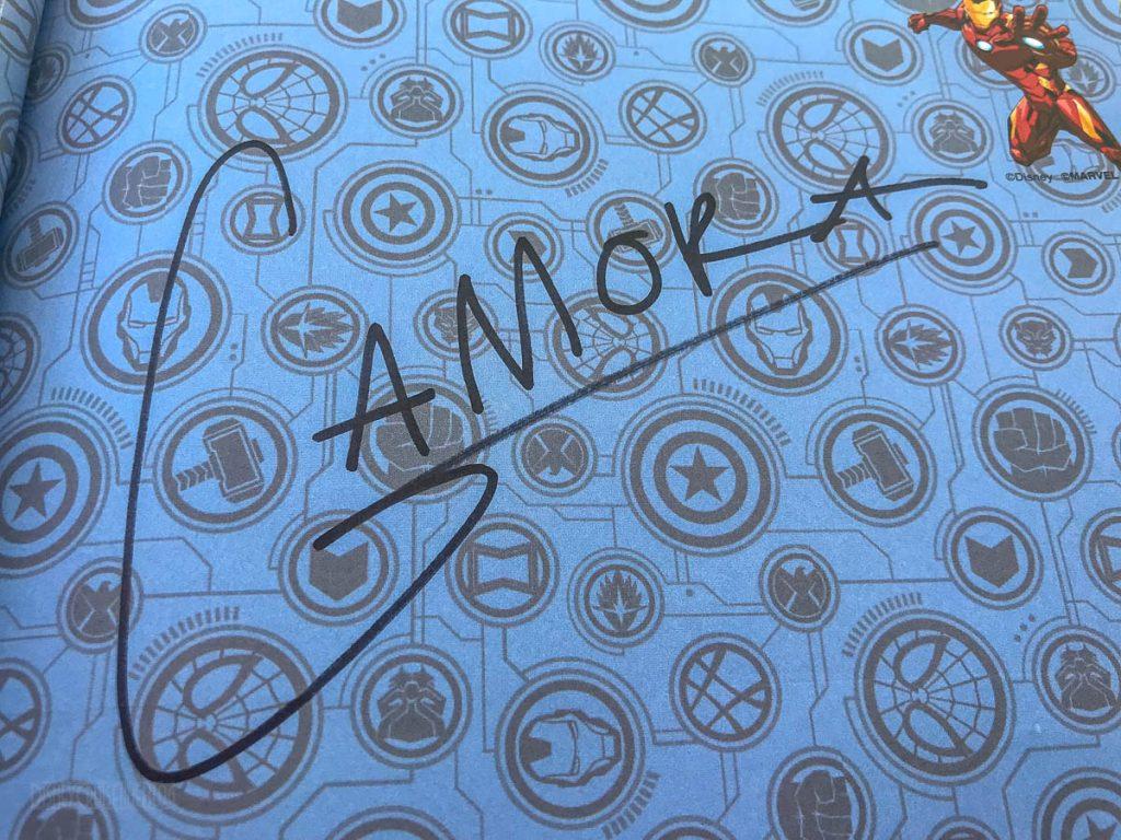 MDAS Meet & Greet Gamora Autograph