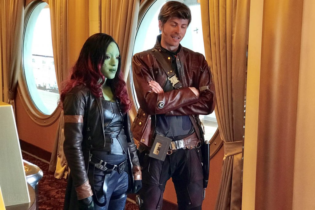 MDAS Gamora Star Lord Meet & Greet
