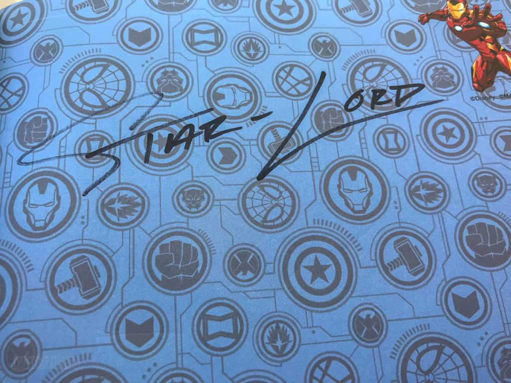 MDAS Meet & Greet Star Lord Autograph
