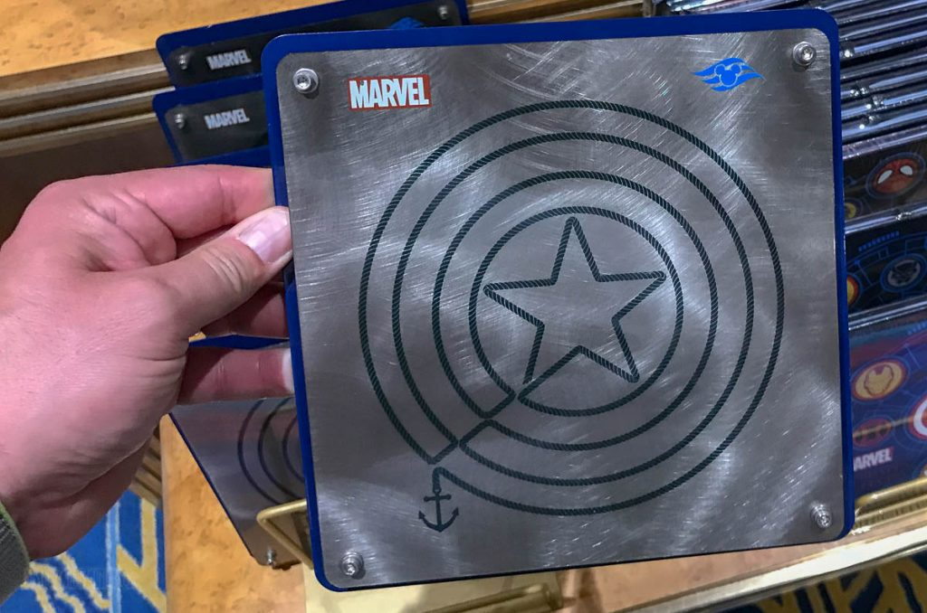 MDAS Merchandise Artwork Metal DCL Captain America Shield