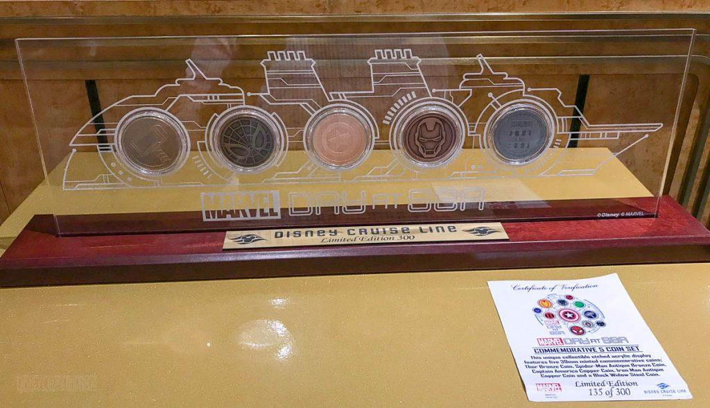 MDAS Merchandise Artwork Ship Coins
