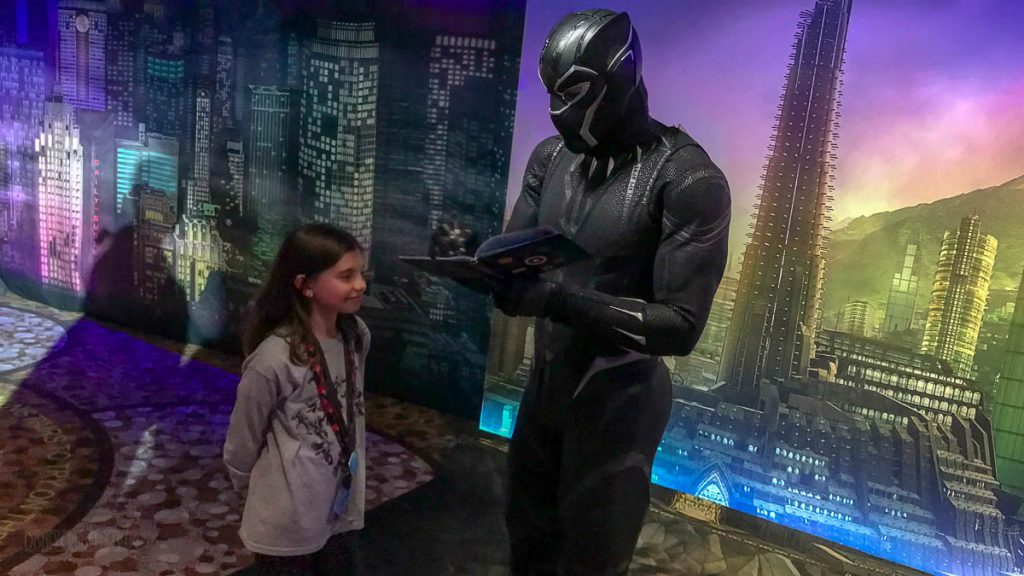 MDAS Mission New York Hero Encounters Black Panther
