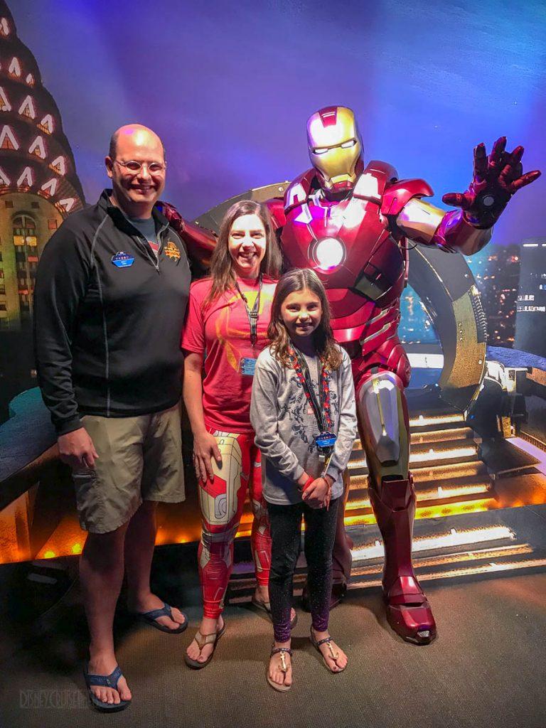 MDAS Mission New York Hero Encounters Iron Man Family