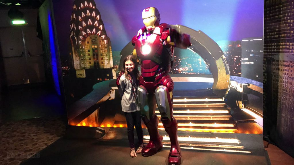 MDAS Mission New York Hero Encounters Iron Man Isabelle