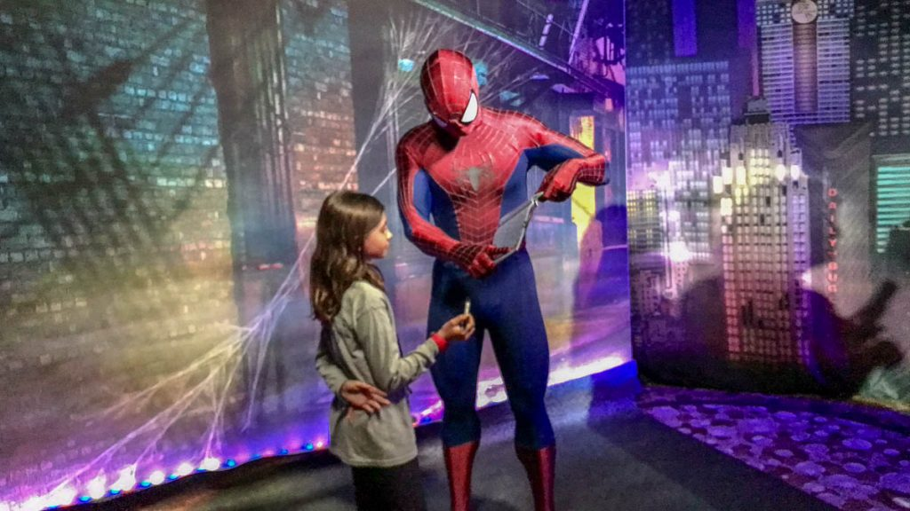 MDAS Mission New York Hero Encounters Spider Man